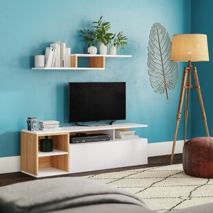 Low priced Brittingham TV Stand for TVs up to 58 by Wrought Studio Reviews (2019) & Buyer's Guide
