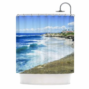 Beach Playground by Nick Nareshni Single Shower Curtain