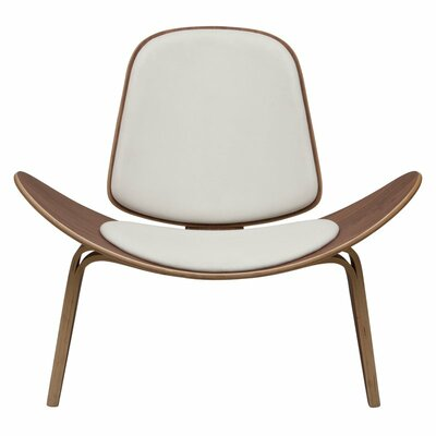 Remarkable Dandre Lounge Chair Corrigan Studio Upholstery White Machost Co Dining Chair Design Ideas Machostcouk