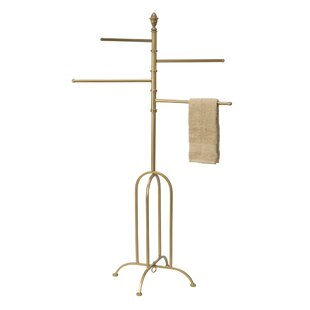 House of Hampton D'Alotto 4-Arm Swivel Coat Rack