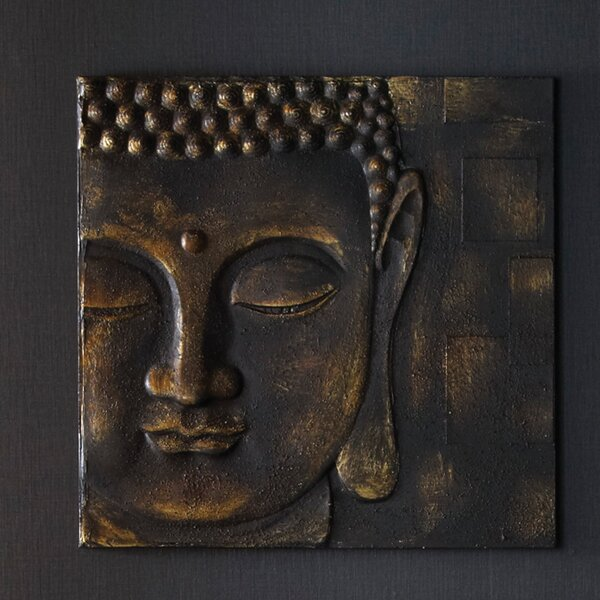 Buddha Wall Decor arthouse buddha wall décor & reviews | wayfair