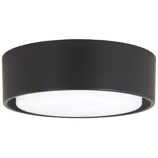 Simple 1-Light LED Ceiling Fan Light Fitter Bowl Light Kit