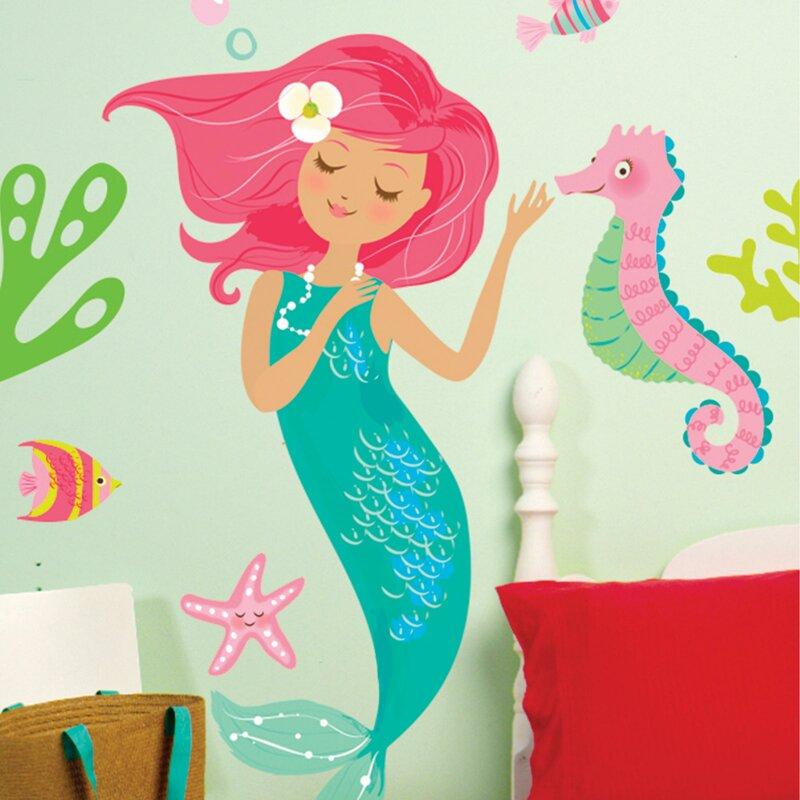 Mermaid Wall Decal