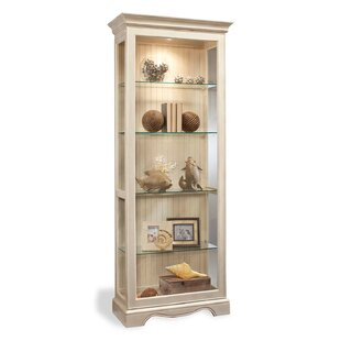 Darby Home Co Shelia Lighted Curio Cabinet