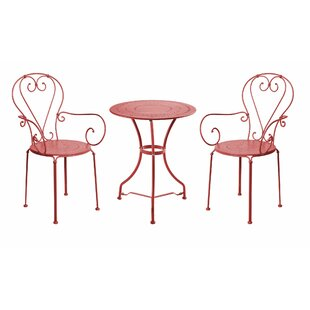 Century 2 Seater Bistro Set By Butlers