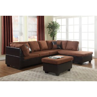 Andria Right Hand Facing Sectional with Ottoman by Winston Porter SKU:BA109728 Information