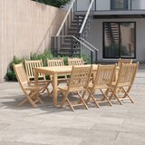 Anthony 9 Piece Teak Dining Set
