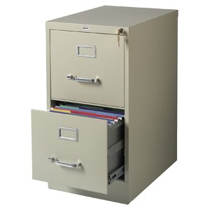 Scalzo 2 Drawer Letter-Size File Cabinet