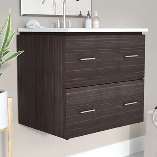 Kyra 24 Rectangle Single Bathroom Vanity