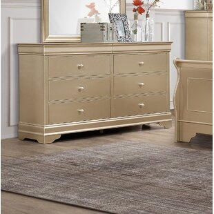 6 Drawer Dresser by Rosdorf Park Read Reviews