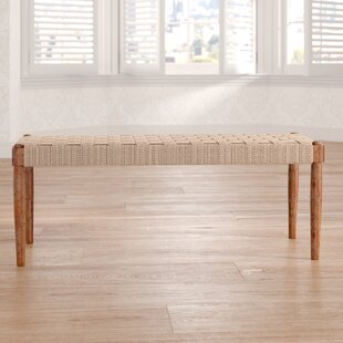 Dawley Wooden Bench By Bloomsbury Market
