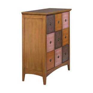 Riccio 9 Drawer Accent Cabinet by Winston Porter