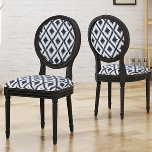 Rockwood Upholstered Dining Chair (Set of 2) Alcott Hill