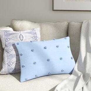 Aiden Jacquard Pom Pom Cotton Lumbar Pillow