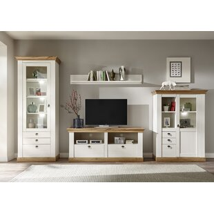 Kridia Entertainment Unit (Set Of 4) By August Grove