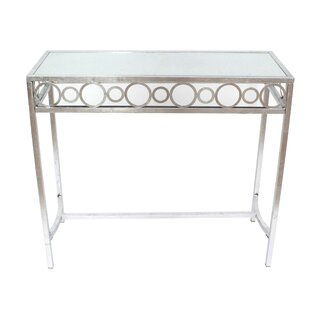 Laci Metal Console Table