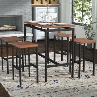 Swigart 5 Piece Pub Table Set By Brayden Studio Modern