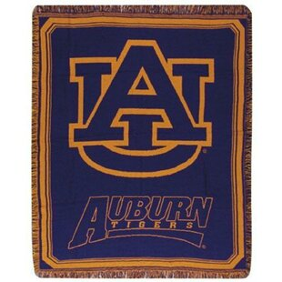 Auburn University Tigers Afghan Throw ByNorthlight Seasonal