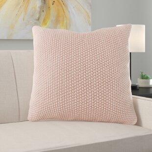 Elliott Knit Square Pillow Cover
