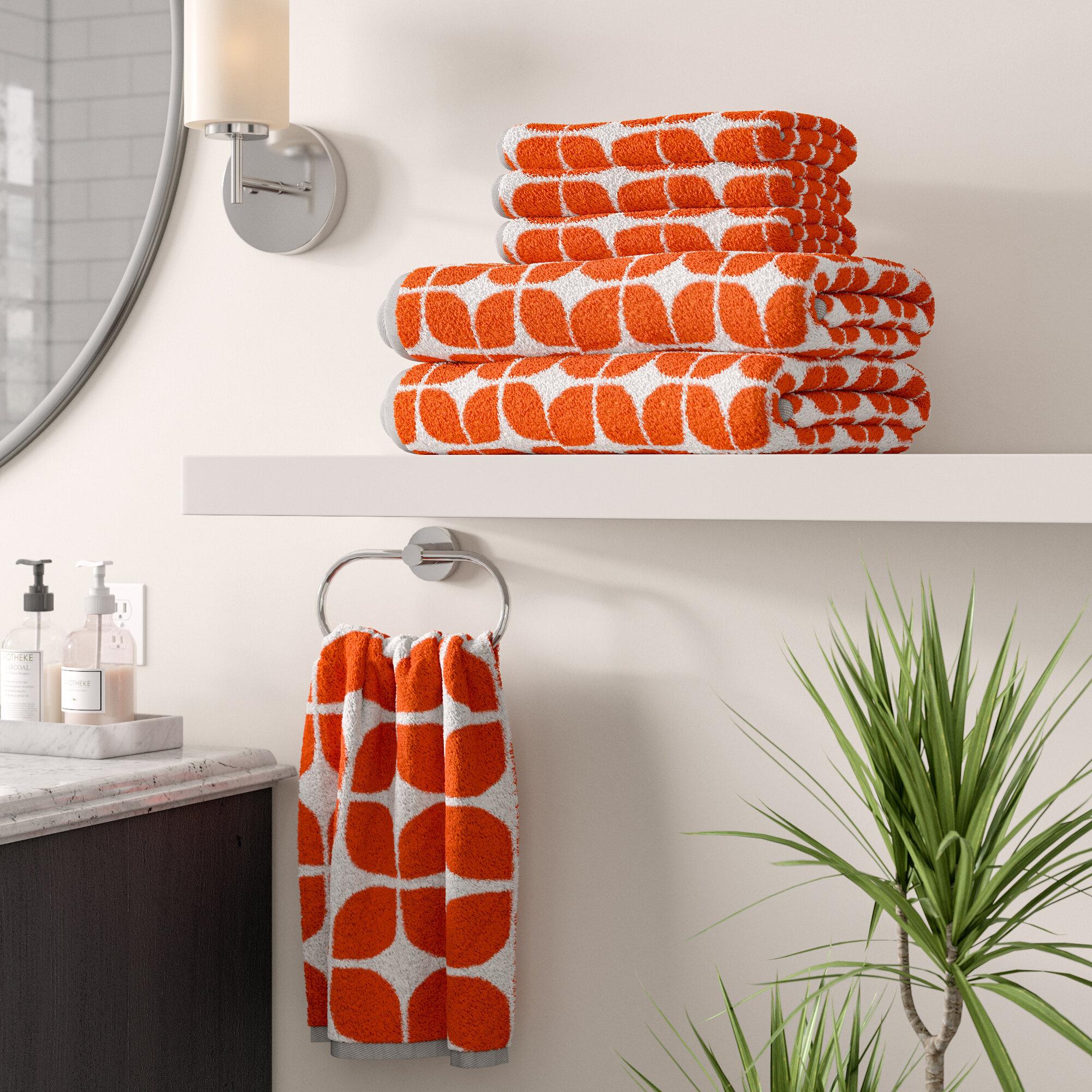 Wrought Studio Stansfield 6 Piece Towel