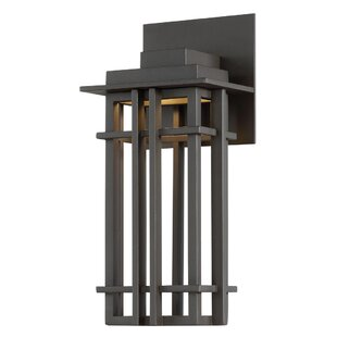 Compare Laforest 1-Light LED Outdoor Sconce By Winston Porter