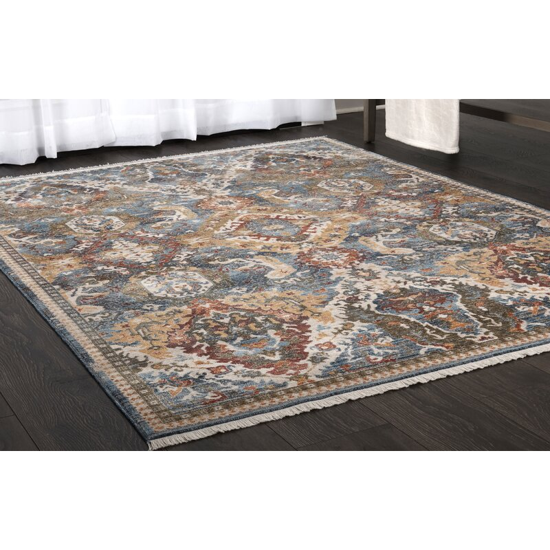 Stratford Global Blue Yellow Red Area Rug Joss Main