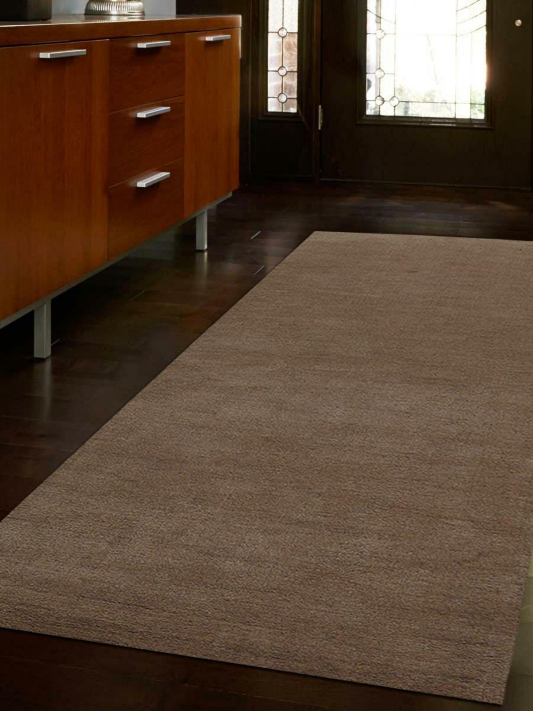 Ebern Designs Seamons Hand Knotted Wool Beige Area Rug Wayfair