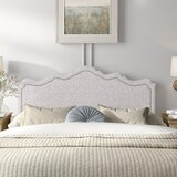 Marceline Upholstered Panel Headboard by Kelly Clarkson Home