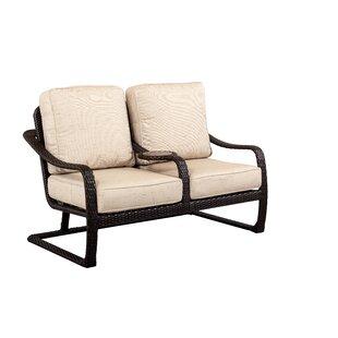 Outdoor Masterpiece Palms Sofa with Cushi..