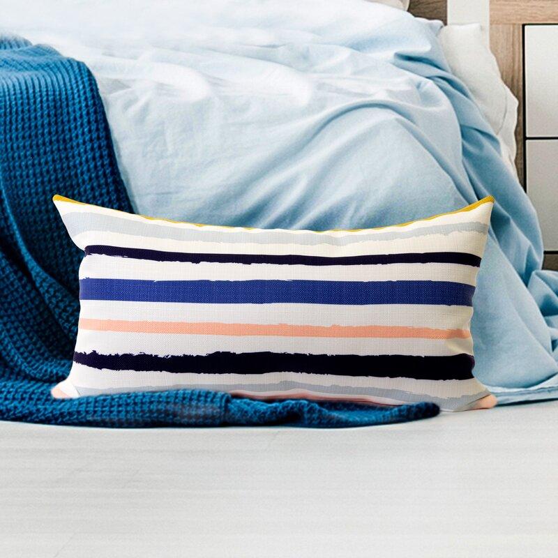 Breakwater Bay Alsup Rough Lumbar Pillow Wayfair