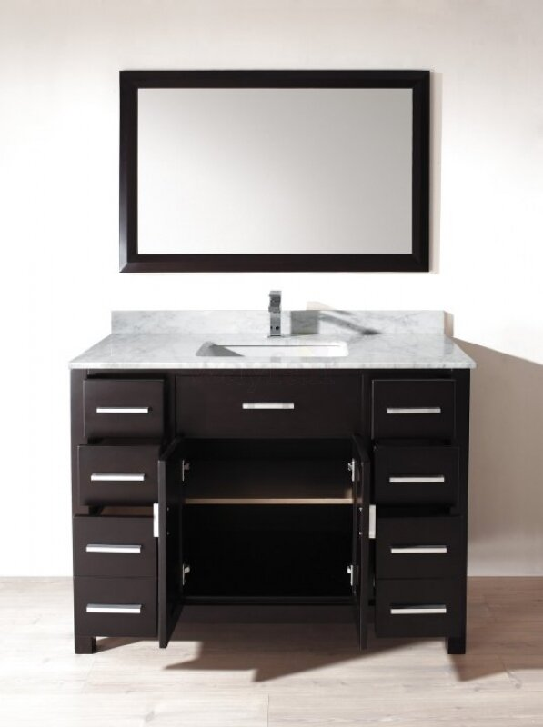 "Celize 48"" Single Bathroom Vanity Set with Mirror"