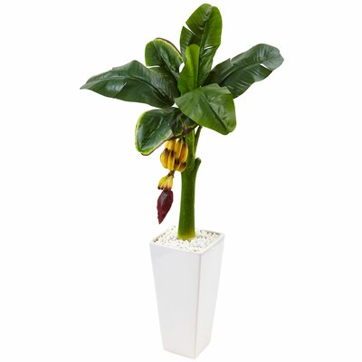 Artificial Banana Leaf Tree in Planter Bayou Breeze