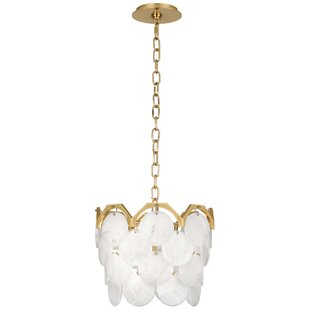 Robert Abbey Hope 4-Light Drum Chandelier