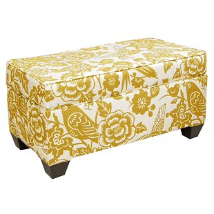 Best Reviews Fabric Storage Bench By Skyline Furniture