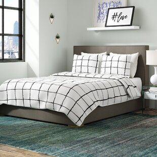 Fermin upholstered Panel Bed