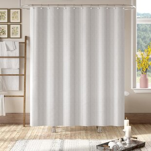 Grand Encampment Natural Single Shower Curtain