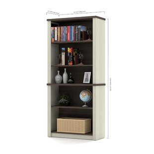 Compare prices Kenworthy Standard Bookcase by Ebern Designs