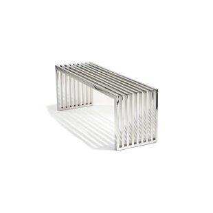 Delaplaine Metal Bench