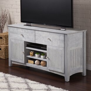 Savings Herring TV Stand for TVs up to 50 by Breakwater Bay Reviews (2019) & Buyer's Guide