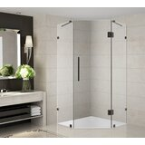Neoscape 36 x 72 Neo Angle Hinged Shower Enclosure by Aston