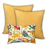 Juneau Song Birds Indoor / Outdoor Pillow