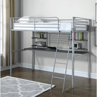 Find for Gabin Twin Loft Bed by Zoomie Kids Reviews (2019) & Buyer's Guide