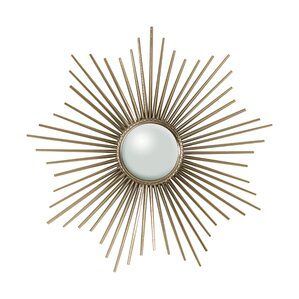 mirror hardware. mini sunburst accent mirror with security hardware 0