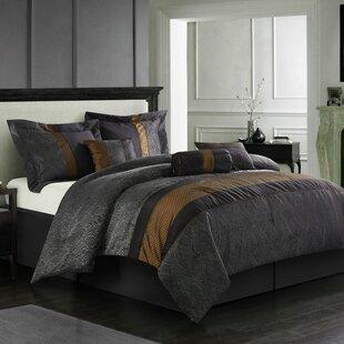 Nanshing America, Inc Corell 7 Piece Comforter Set