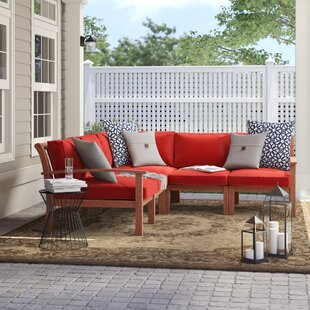 Rossi Patio Sectional with Cushions by Birch Lane™ Heritage