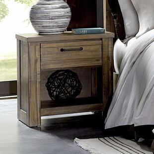 Hassler 1 Drawer Nightstand by Gracie Oaks