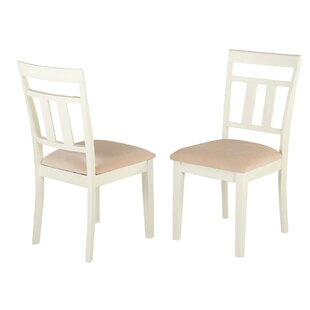 August Grove Aguiar Solid Wood Dining Chair (Set of 2)