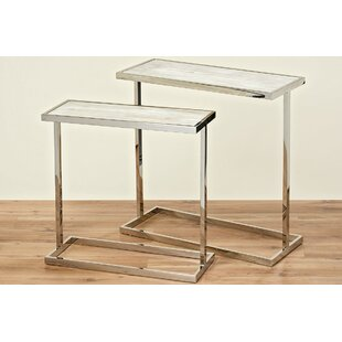 Beach 2 Piece End Table Set