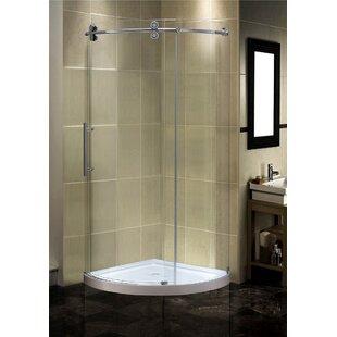 Curved Shower Stalls Enclosures You Ll Love Wayfair