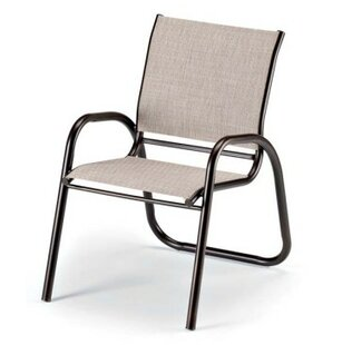 Gardenella Stacking Patio Dining Chair (Set of 4)